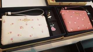 Coach 銀包 gift box set