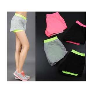 Double-Layer Athletic Shorts Brand New