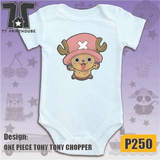 Tony Tony Chopper Design Baby Onesie