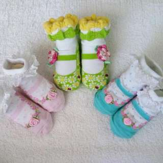 Babies Wear - Socks Take 3 For 180.00