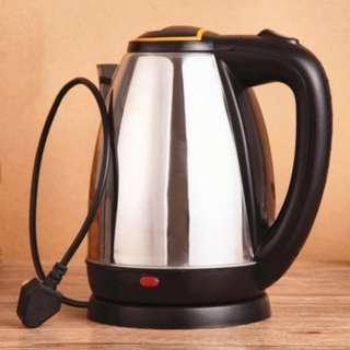 [PO409]2L 1500W Stainless Steel Anti-dry Protection Electric Auto Cut Off Jug Kettle