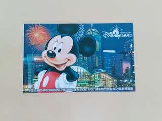 香港廸士尼門票(已使用,無面值)