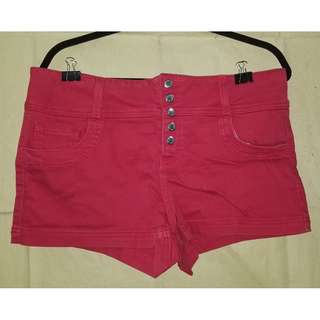 Guess Red Shorts
