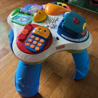 Fisher Price Table laugh and learn