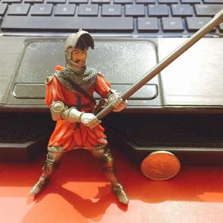 Medieval Knight Figure