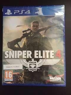 PS4 Sniper Elite 4 (New)