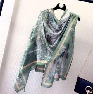 Soft Silk Shawl