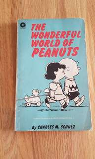 1954 Vol. 1 Charles Schulz, The Wonderful World of Peanuts