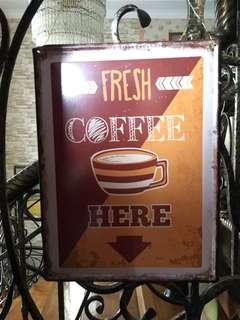 pajangan dinding kopi