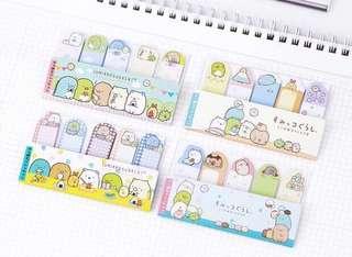 (PO) Sumikko Gurashi Page Markers/ Sticky Notes