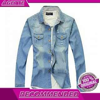 Jaket Pria Exclusive Frans - Jaket Jeans Premium