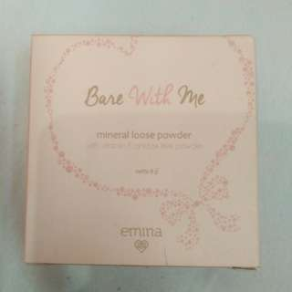 """Emina Mineral Loose Powder """"Bare With Me"""""""