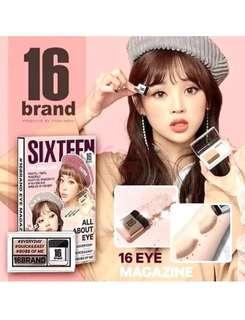 16brand eye shadow