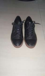 Unbrand black shoes /made italy