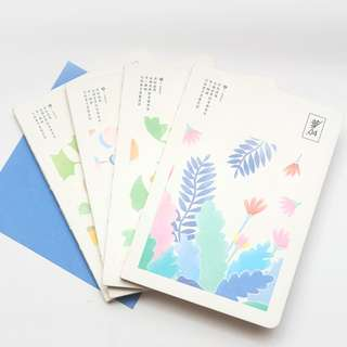Blooming Season Mixed Notebook B6