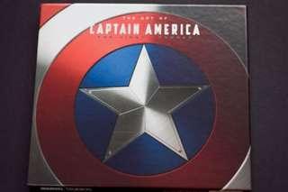 The Art of Captain America - The First Avenger (Hardcover)