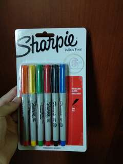 Sharpie Ultra Fine 6pcs
