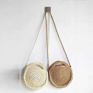 Straw Rattan Bags