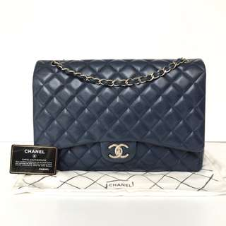 Authentic Chanel Classic Maxi Flap Bag