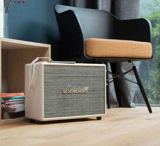 Marshall Bluetooth Woburn Speaker (Cream)
