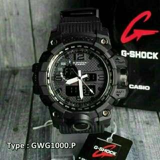 G-shock dual time