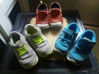 REPRICED!!!TAke all for 900 NIKE SHOES FOR TODDLER