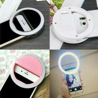 Clip On LED Selfie Ring Light