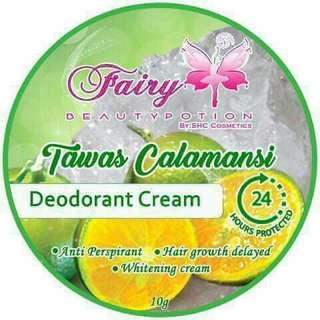 Tawas Calamansi Deo Cream w/ Gluta