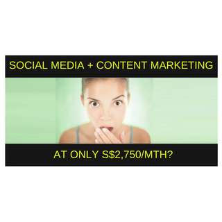 SME Marketing: Social Media + Content Marketing