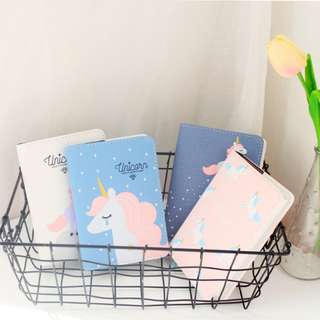 Unicorn Sweet Dream Canvas Organizer A6