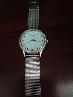 Guess Silver Used Watch