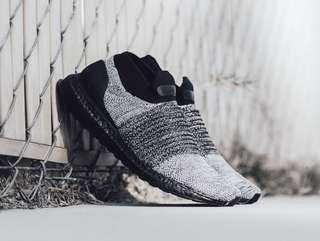 Adidas Ultra Boost Laceless Oreo Black Grey