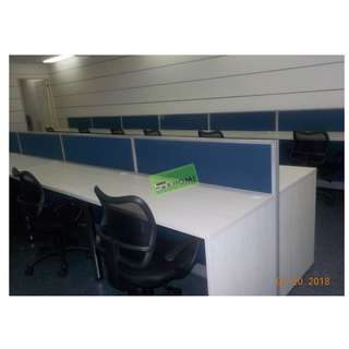 SEATER CUSTOMIZE LINEAR WORKSTATIONS--KHOMI