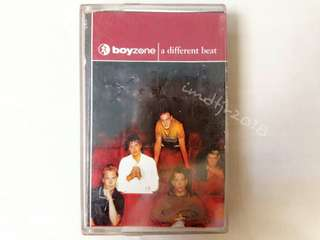 "Boyzone ""A Different Beat"" Cassette Tape"