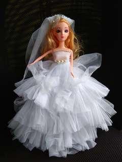 Wedding decor Bridal doll