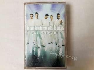 """Backstreetboys """"Millenium"""" Cassette Tape"""