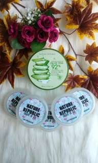 [Share in Jar] Nature Republic Aloe Shoothing Gel 92%