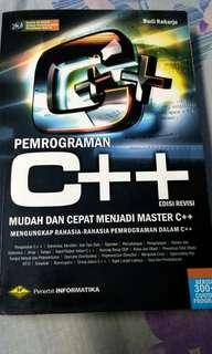 Pemrograman C++ Budi Raharjo edisi 2014