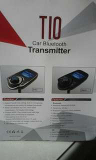 T10 CAR BLUETHOOTH TRANSMITTER