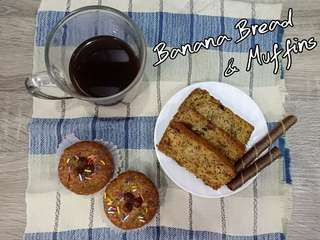 Banana Bread/Muffins for Sale