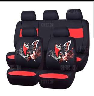 Car-pass Butterfly Universal Car Seat Cover
