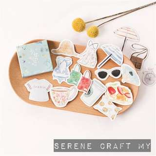 Set of 45pcs Day At The Beach Sticker Pack