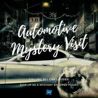 Automotive Mystery Visit