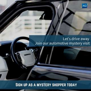 Automotive Mystery Visits