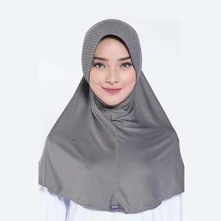 ELZATTA ORIGINAL Hijab Instan Jilbab Bergo Spandex E009-810