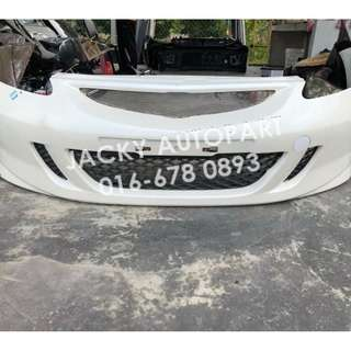 Front Bumper Depan Honda Jazz Fit Gd3 Type S Japan