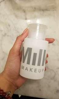Milk makeup remover