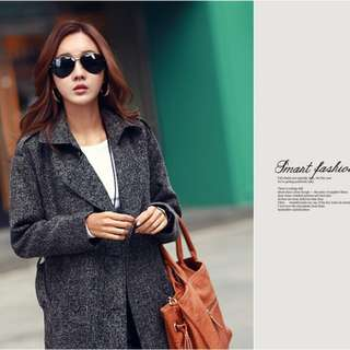 Korea Winter Coat With Belt 218308 CF*ready stock*
