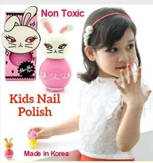 Non Toxic Kids Nail Polish