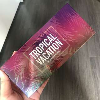 tropical vacation palette